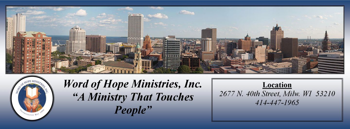 Word of Hope Ministries, Inc.